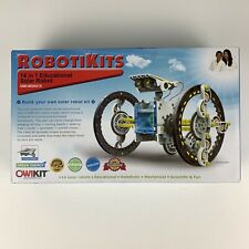 Robotikits OWIKIT 14-in-1 Educational Solar Robot Kit OWI-MSK615 Ages 10 Up NEW