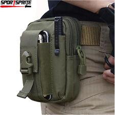 Compact Molle Waist Pouch Utility Gadget Fanny Bag for Waist Belt Tacticsl Vest