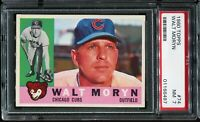 1960 Topps Baseball #74 WALT MORYN CHICAGO CUBS PSA 7 NM