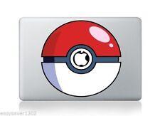 "Pokemon Ball Apple Macbook Pro Air 13"" Mac Sticker Skin Decal Vinyl For Laptop"