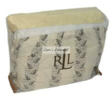 RALPH LAUREN Winter Cottage Cream & Black CAL KING BEDSKIRT NEW