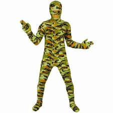 Lycra Military Unisex Fancy Dress