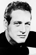 Paul Newman Studio Head Shot B&W 11x17 Mini Poster