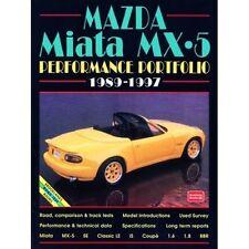 MAZDA MX-5 Performance PORTFOLIO 1989-1997 BOOK LIBRO