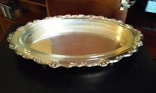 Reed & Barton Francis I oval casserole server dish - silver w/glass liner