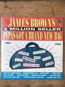 James Brown Papas Got A Brand New Bag Lp Original 1960s US Issue Still Sealed
