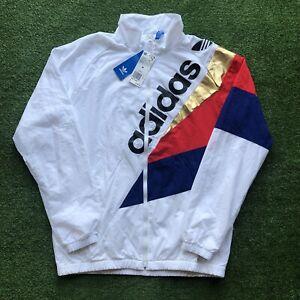 Brand New Adidas Originals St Petersburg Pack Tribe Trefoil Logo Track Jacket M