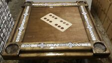 Dark Walnut Domino Table by Domino Tables by Art