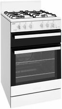 NEW Chef CFG503WBNG 54cm Freestanding Natural Gas Oven/Stove