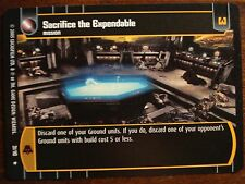 Star Wars TCG ROTS Sacrifice the Expendables