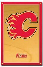 HOCKEY POSTER Calgary Flames Logo NHL