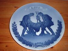 """Aniversario plato """"batalla de Fredericia 1849-1924"""" Super rara vez, 29cm grande #4418"""