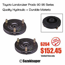 2 Strut Top Mount Bearing Kit Toyota Land Cruiser Prado 90 95 Series Upper 96-02