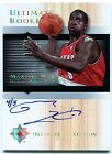 2005-06 Ultimate MARTELL WEBSTER Auto RC Rare Redemption Platinum Foil SP #/5