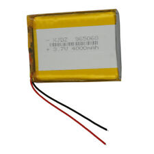3.7V 4000 mAh Rechargeable Polymer Li ion Lipo battery 965068 for GPS Tablet PC