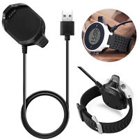 USB Cable Charging Cradle Fast Charger For Garmin Approach S5 S6 GPS Golf Watch