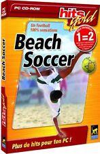 Beach Soccer - HITS GOLD - PC CD-ROM - NEUF