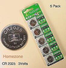 5 x Coin 3V 2025 BATTERIES DL2025 ECR2025 CR2025 Trendy