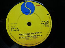 FLAG OF CONVENIENCE The other man's sin / life on the telephone SIR 4057