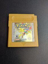 Pokemon Gold Version Nintendo Game Boy Color EX condition cartridge authentic