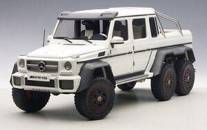 Mercedes-Benz G63 AMG 6x6 (Matt White) 2013