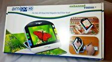 """Amigo HD Enhanced Vision Magnifier Color 7"""" Handheld Reading-Aid Display"""