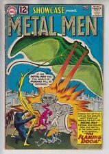 DC SHOWCASE PRESENTS # 37  KEY 1ST METAL MEN  GD/VG 3.0  CENTS  1962