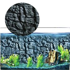 3D Foam Rock Reptile Aquarium Fish Tank Backdrop Background Board Kit 2018