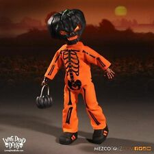 "Living Dead Dolls Jack O Lantern 10"" Star Images Exclusive Mezco Orange Variant"