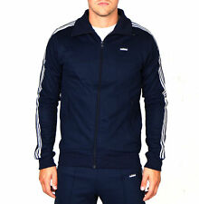 Adidas Original Beckenbauer Men`s Track Top In Navy AB7766 , Size S