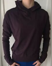 Lululemon Size 10 Lead The Pack Hoodie Black Cherry BCHR Pullover Jacket Scuba