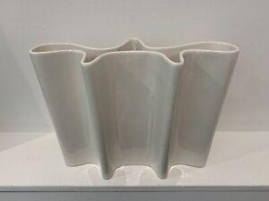 Vintage Modernist Biomorpic Vase Attrib. to Angelo Mangiarotti Modernism MCM MOD