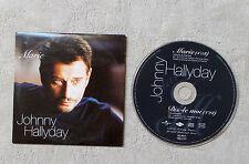 """CD AUDIO MUSIQUE FR / JOHNNY HALLYDAY """"MARIE / DIS-LE MOI"""" CD SINGLE  2T 2002"""