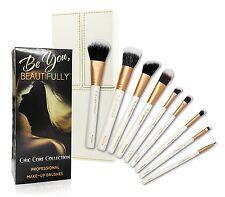 Professional 8 Piece Makeup Brush Set Designer Case Plus BONUS Stippling Brush