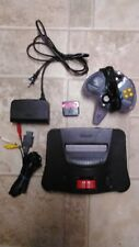 Nintendo 64 N64 System/Console w/ Expansion Pak, Controller and Hookups - Tested
