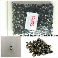 50 X Car Fuel Injector Micro Basket Filter Repair Service For Renault VD-FL-1010