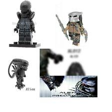2 Minifiguras alien vs predator lego set sci fi con huevo