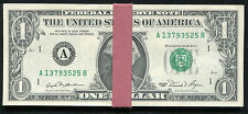 (25) CONSECUTIVE 1981 $1 ONE DOLLAR FRN FEDERAL RESERVE NOTES GEM UNC