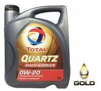 0W 20 TOTAL QUARTZ 9000 V-Drive 5 Liter Motorenöl VOLVO