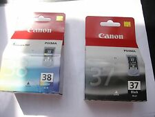 VALUE PACK PG-37 + CL-38 CANON ORIGINAL pixma IP2500 ip1800 MG666 MX-300 310