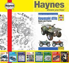 Haynes Service / Repair Manual for Kawasaki Atv / Quads
