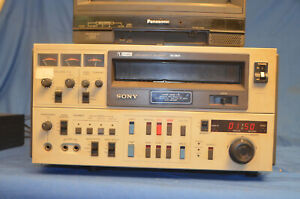 "Sony U-Matic VO-5850 Professional 3/4"" Video Recorder Player Editor NTSC"