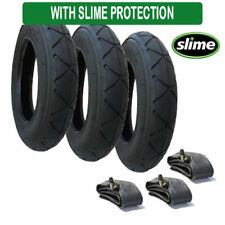 Mountain Buggy Breeze tyres & inner tubes x 3 size 10 x 2 with Slime Protection