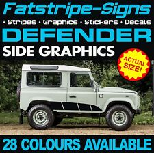 LAND Rover Defender Grafico Decalcomanie Adesivi Strisce 4x4 2.5 90 110 127 130 D