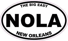 New Orleans NOLA The Big Easy Vinyl Sticker Decal
