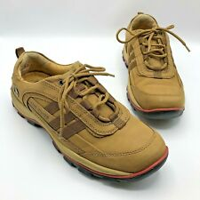 Red Chief Comfort Tech Men Brown Leather Walking Shoe Size 10L Pre Owned