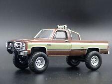 1982 82 GMC K2500 4X4 TRUCK FALL GUY SQUAREBODY 1/64 SCALE DIECAST MODEL CAR