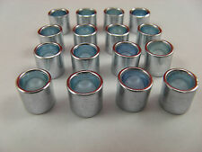 16 x BEARING SPACERS 8mm BORE x 10mm WIDTH SKATEBOARDS,SCOOTERS,ROLLER SKATES
