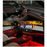 4 Meter Auto Rot LED Ambientebeleuchtung Innenraumbeleuchtung Lichtleiste Linie