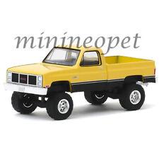 GREENLIGHT 35150 C 1987 GMC HIGH SIERRA PICK UP TRUCK 1/64 DIECAST CAR YELLOW